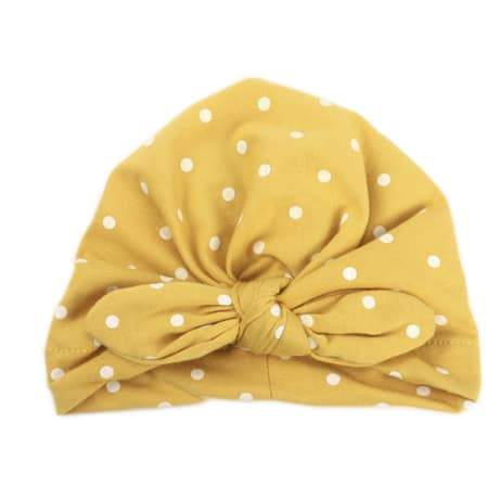 BABY TURBAN IN POLKA DOTS - LOCAL FIXTURE