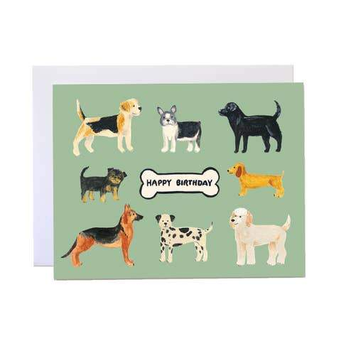 BIRTHDAY DOGS CARD - LOCAL FIXTURE