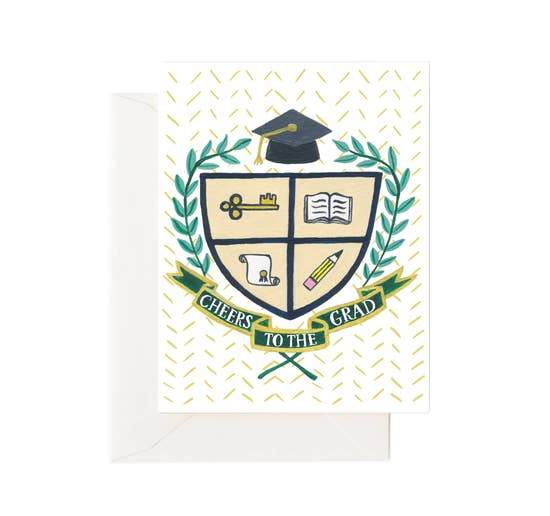 GRAD COAT OF ARMS CARD - LOCAL FIXTURE
