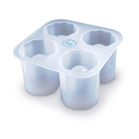 FRED & FRIENDS COOL SHOOTERS SHOT GLASS ICE TRAY - LOCAL FIXTURE