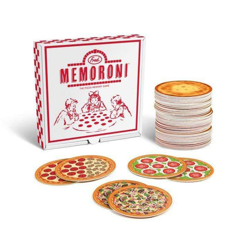 FRED & FRIENDS MEMORONI PIZZA MEMORY GAME - LOCAL FIXTURE