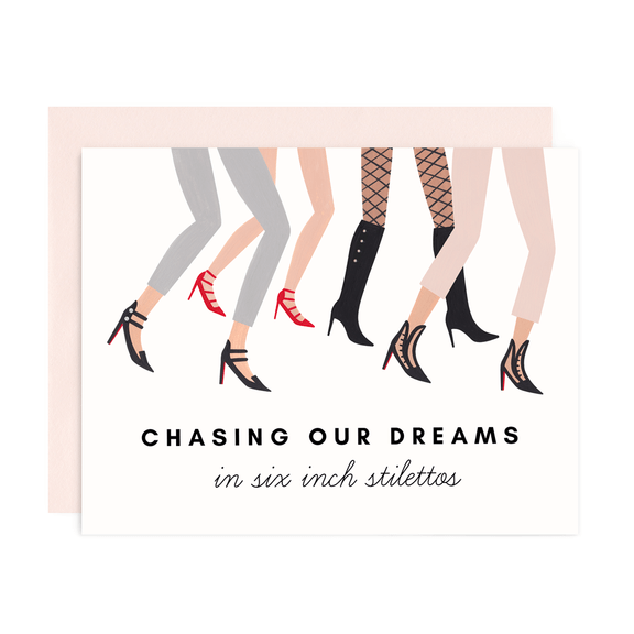CHASING DREAMS GREETING CARD - LOCAL FIXTURE