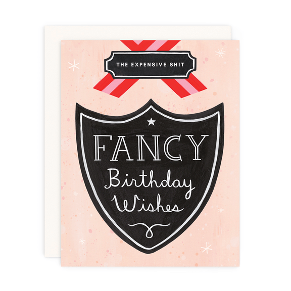 FANCY BIRTHDAY GREETING CARD - LOCAL FIXTURE