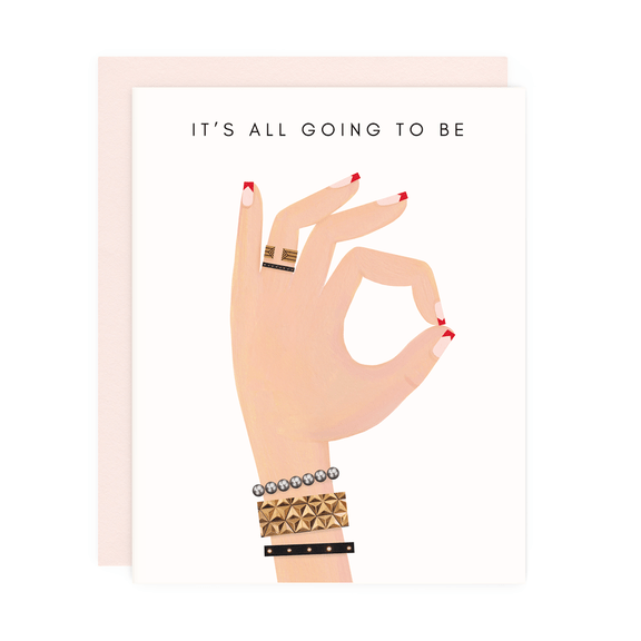 IT'S ALL OK GREETING CARD - LOCAL FIXTURE