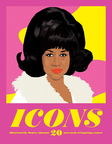 Icons Notecards: 20 Notecards of Inspiring Women - LOCAL FIXTURE