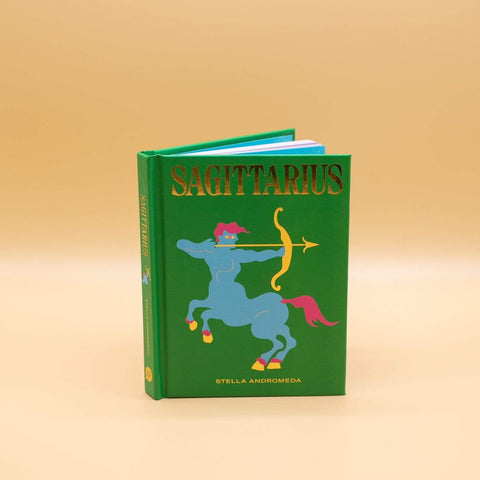 SAGITTARIUS ZODIAC BOOK - LOCAL FIXTURE