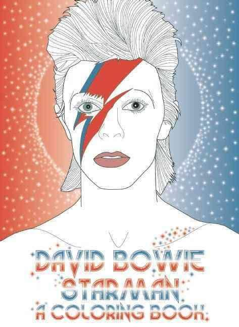 David Bowie - Starman: A Coloring Book - LOCAL FIXTURE