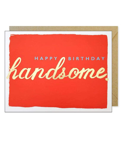 J. FALKNER CARDS CARD Happy Birthday Handsome Card