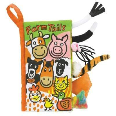 JELLYCAT FARM TAILS BOOK - LOCAL FIXTURE
