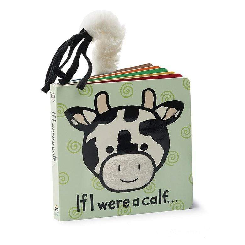 JELLYCAT IF I WERE A CALF BOOK - LOCAL FIXTURE