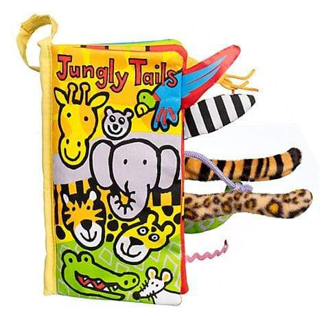 JELLYCAT JUNGLY TAILS BOOK - LOCAL FIXTURE