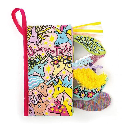 JELLYCAT UNICORN TAILS BOOK - LOCAL FIXTURE