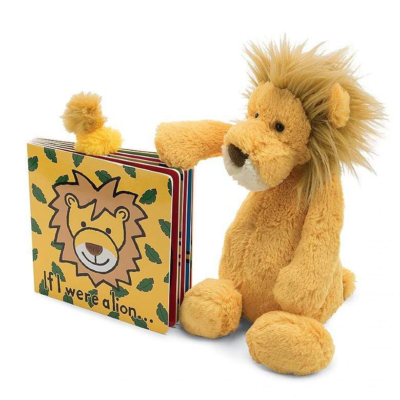 JELLYCAT IF I WERE A LION - LOCAL FIXTURE
