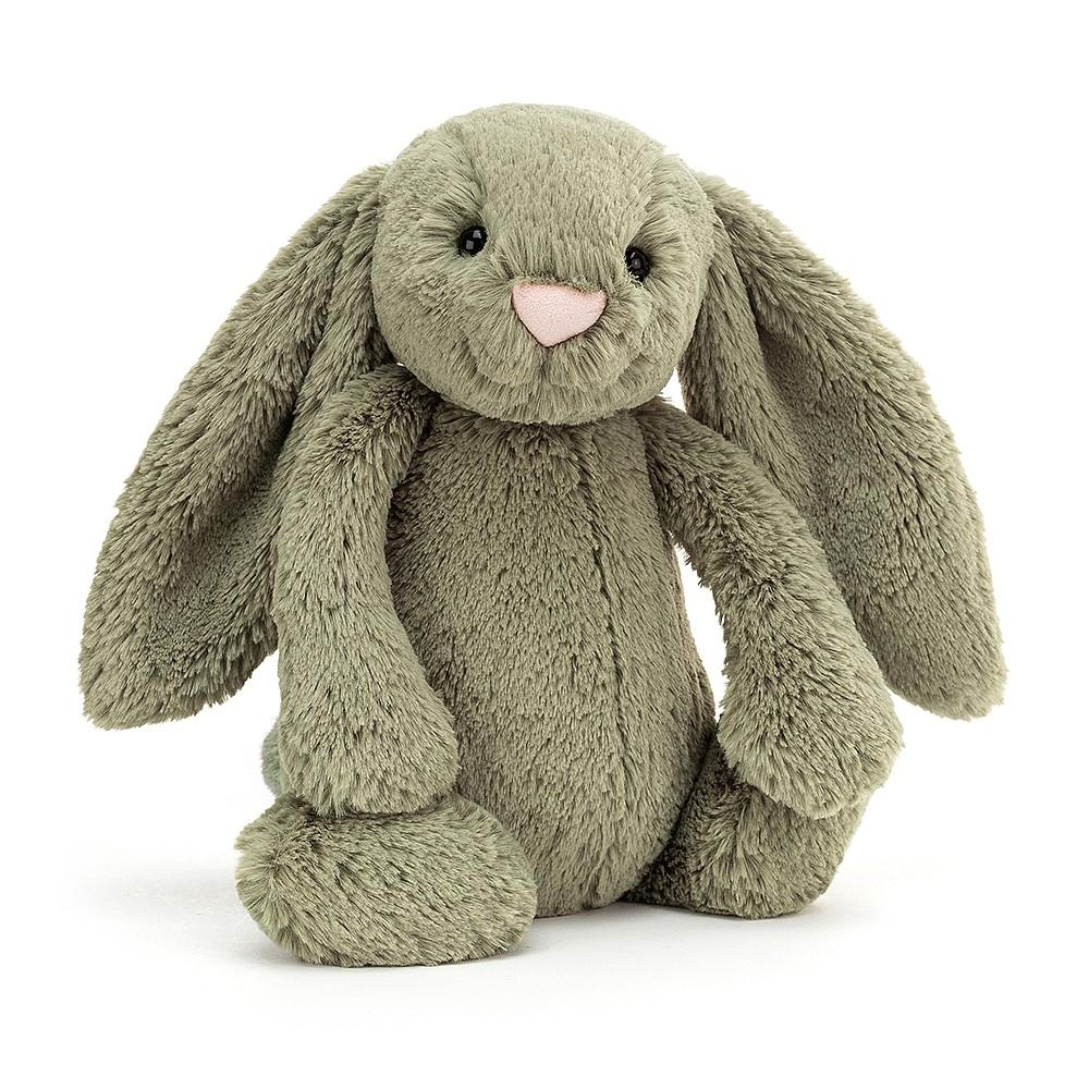 JELLYCAT PLUSH TOY FERN JELLYCAT BASHFUL BUNNY - SMALL
