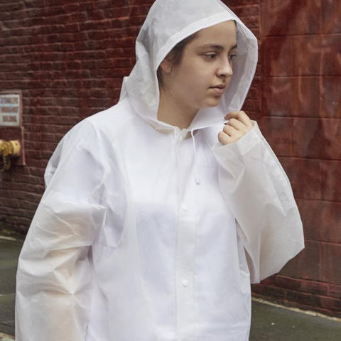 KIKKERLAND CLEAR COMPACT RAINCOAT - LOCAL FIXTURE