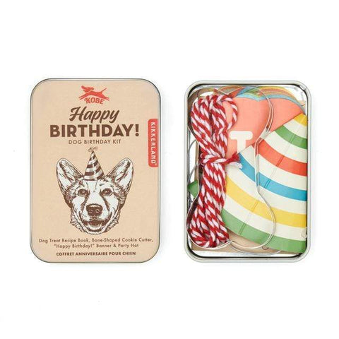 KIKKERLAND DOG BIRTHDAY KIT - LOCAL FIXTURE