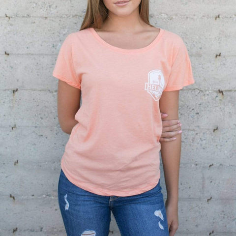WOMEN'S HELLMAN WHITTIER WILD T-SHIRTS - LOCAL FIXTURE