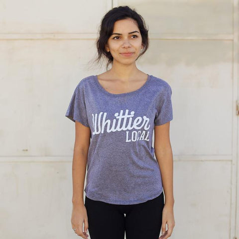 WOMEN'S WHITTIER LOCAL T-SHIRT - MORE COLORS - LOCAL FIXTURE