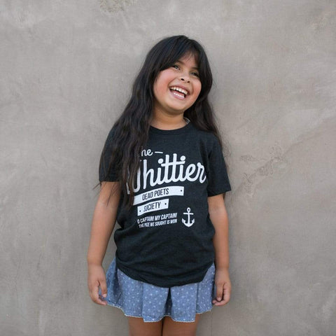 KIDS WHITTIER DEAD POETS T-SHIRT - MORE COLORS - LOCAL FIXTURE