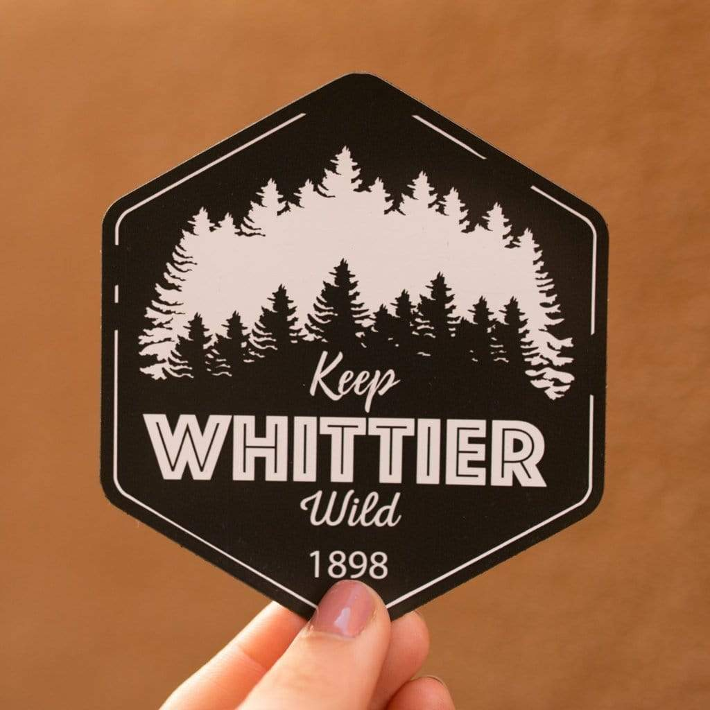 KEEP WHITTIER WILD STICKERS - LOCAL FIXTURE