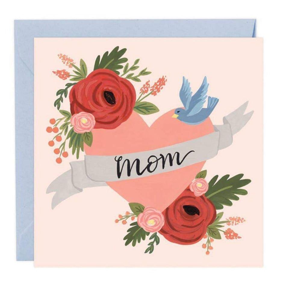 MOM TATTOO MOTHER'S DAY CARD - LOCAL FIXTURE
