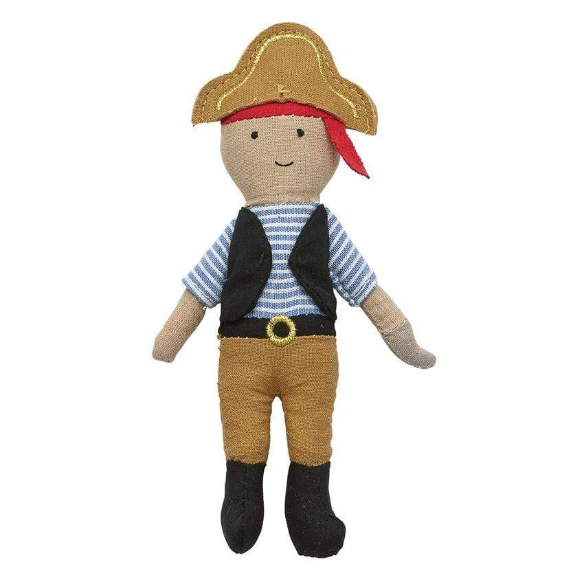 MUD PIE PIRATE HOOK PLUSH RATTLE - LOCAL FIXTURE