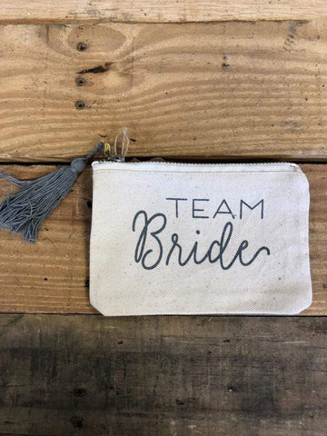 MUD PIE TEAM BRIDE POUCH - LOCAL FIXTURE