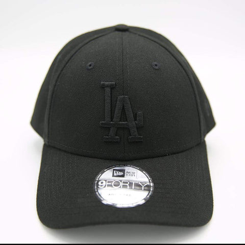 Los Angeles Dodgers Black 9Forty Adjustable - LOCAL FIXTURE