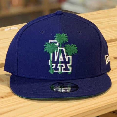 New Era LA Dodgers Snapback with Palm Trees - LOCAL FIXTURE