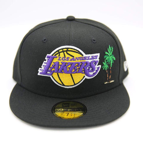 New Era Los Angeles Lakers Black with Palm Tree and Taco - LOCAL FIXTURE