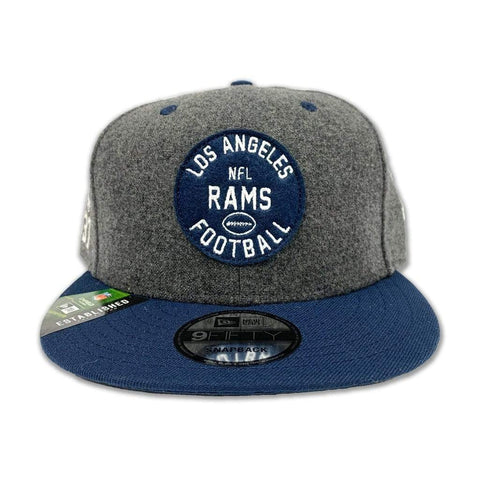 New Era Los Angeles Rams Official NFL Sideline Home 59Fifty Fitted - LOCAL FIXTURE