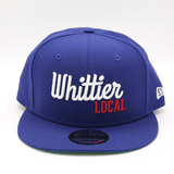 NEW ERA x WHITTIER LOCAL HAT - ROYAL BLUE - LOCAL FIXTURE