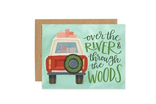 ONE CANOE TWO HOLIDAY JEEP CARD - LOCAL FIXTURE