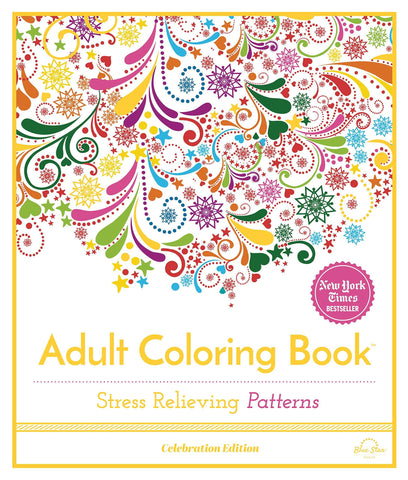 Adult Coloring Book: Stress Relieving Patterns - LOCAL FIXTURE