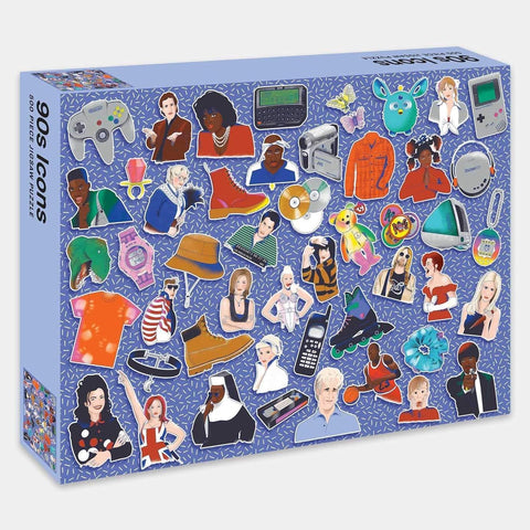 90s Icons Jigsaw Puzzle: 500 Piece Jigsaw Puzzle - LOCAL FIXTURE