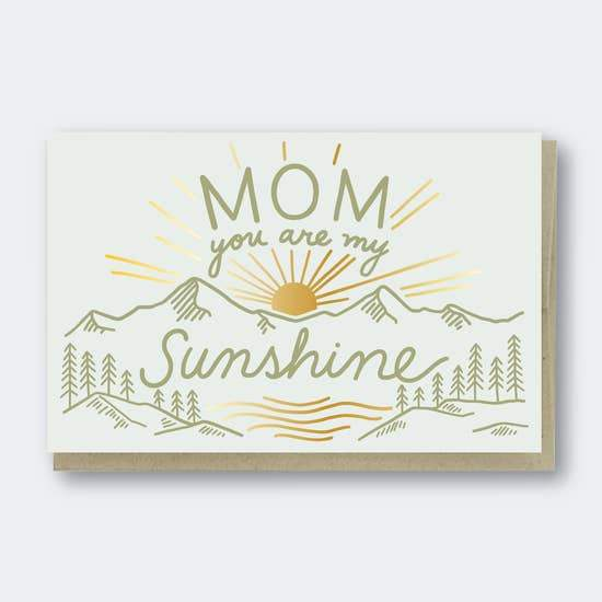 MOM YOU ARE MY SUNSHINE CARD - LOCAL FIXTURE