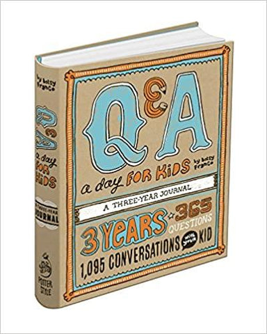 Q&A a Day for Kids: A Three-Year Journal - LOCAL FIXTURE