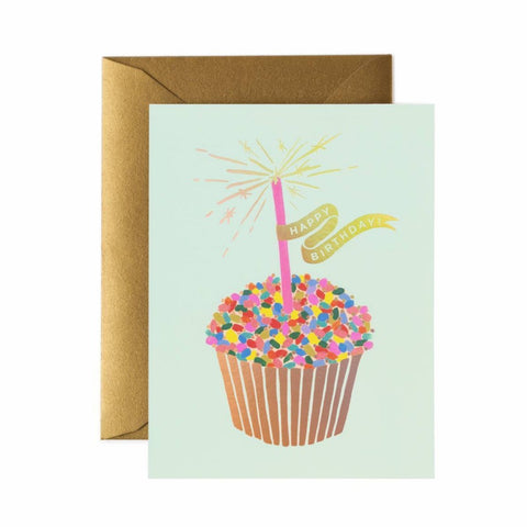 RIFLE PAPER CUPCAKE BIRTHDAY CARD - LOCAL FIXTURE