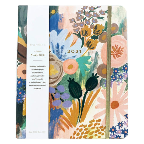 Rifle Paper Co Luisa Covered 2021 17-Month Planner - LOCAL FIXTURE