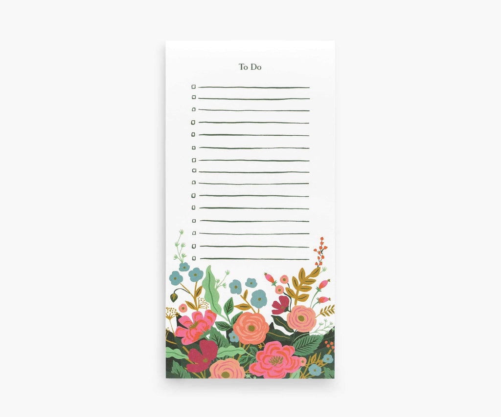 RIFLE PAPER CO. FLORAL VINES MARKET PAD - LOCAL FIXTURE