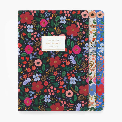 RIFLE PAPER CO. WILD ROSE JOURNALS - LOCAL FIXTURE