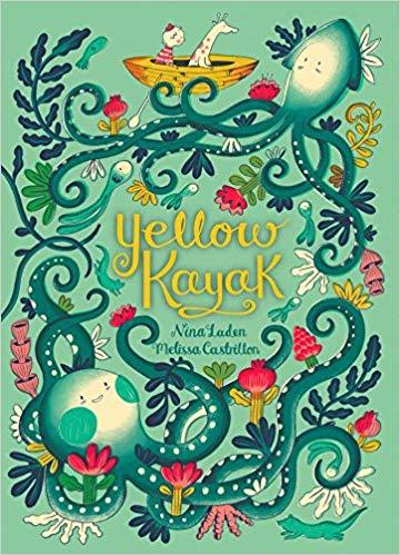 YELLOW KAYAK BOOK - LOCAL FIXTURE