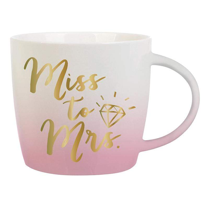 "SLANT COLLECTIONS ""MISS TO MRS"" MUG FLARED - LOCAL FIXTURE"
