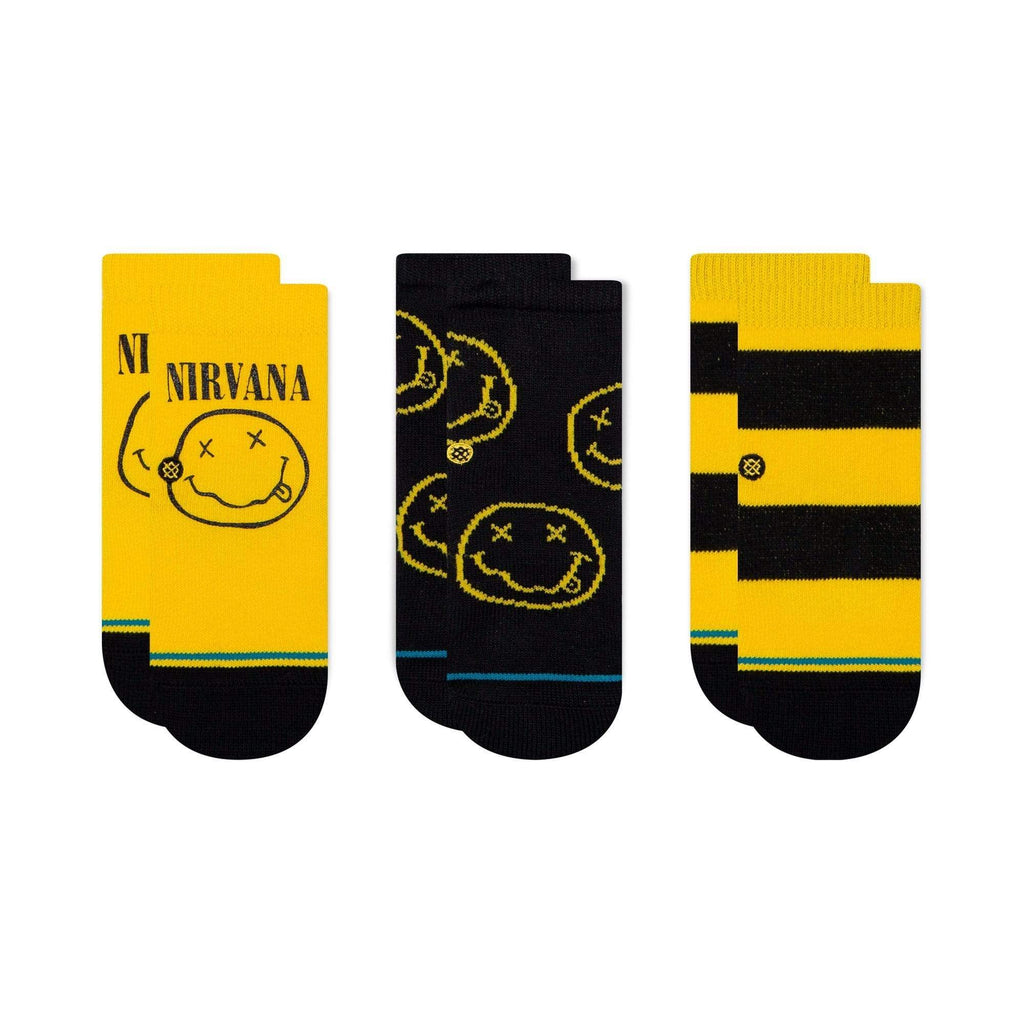 STANCE NEVERMIND 3 PACK TODDLER SOCKS - LOCAL FIXTURE