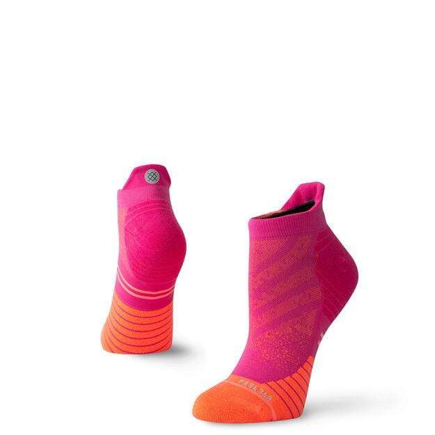 STANCE WOMEN'S UNCOMMON RUN TAB SOCKS IN PINK - LOCAL FIXTURE