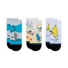 STANCE DR SEUSS 3 PACK TODDLER SOCKS - LOCAL FIXTURE