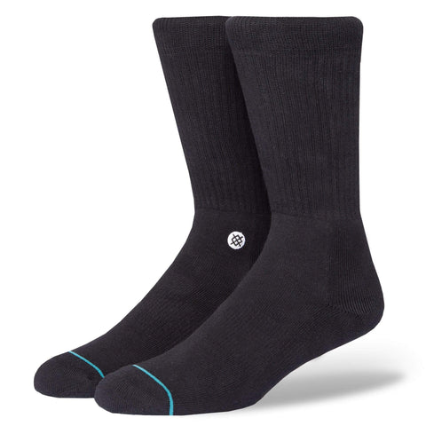 STANCE ICON SOCKS 3 PACK - BLACK - LOCAL FIXTURE