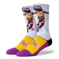 STANCE LBJ BIG HEAD SOCKS - LOCAL FIXTURE
