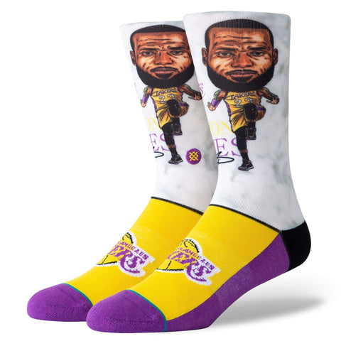STANCE LEBRON BIG HEAD SOCK - LOCAL FIXTURE