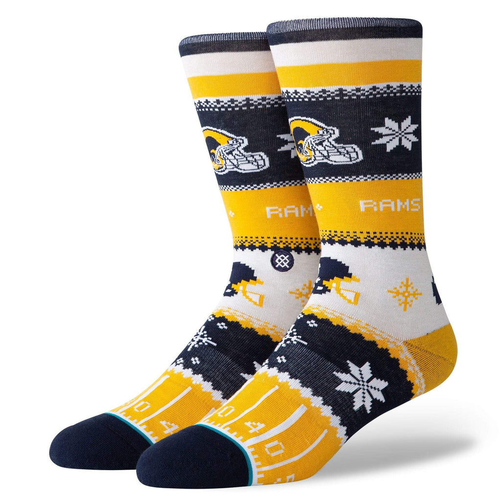 STANCE RAMS HOLIDAY SWEATER SOCKS - LOCAL FIXTURE